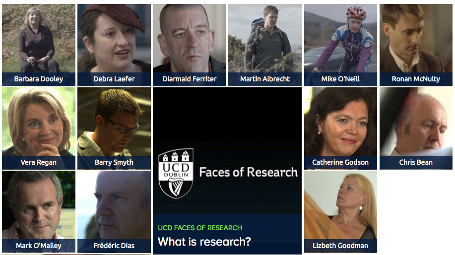 Faces of Research